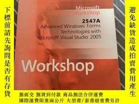 二手書博民逛書店Microsoft罕見Offcial Workshop 2547A WorkshopY458370 不祥