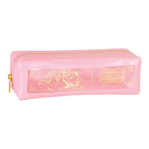 《sun-star》迪士尼法式小可愛系列PVC開窗長方筆袋(瑪莉貓)★funbox生活用品★_UA48847