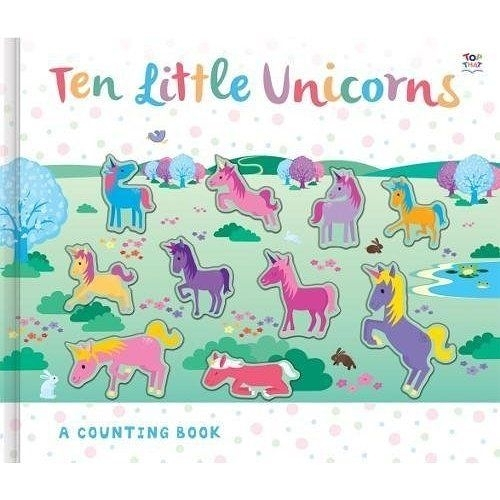 Ten Little Unicorns  A Counting Book 十隻獨角獸 數數學習書