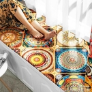 訂製 民族風波西米亞飄窗墊棉麻加厚海綿5公分訂製臥室陽臺窗臺墊  居樂坊生活館YYJ