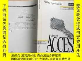二手書博民逛書店英文原版罕見Building Applications Micr
