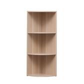 日本IRIS木質三層轉角櫃-淺木色 W29H87.9