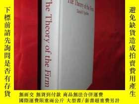 二手書博民逛書店The罕見Theory of the Firm: Microec