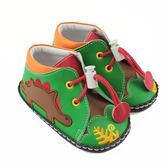 【愛的世界】森林恐龍寶寶鞋/學步鞋(高筒)-台灣製- ★童鞋童襪