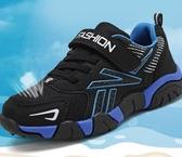 兒童運動鞋男童鞋子新款秋冬季兒童小孩運動學生中大童加絨加厚保暖棉鞋 新年禮物