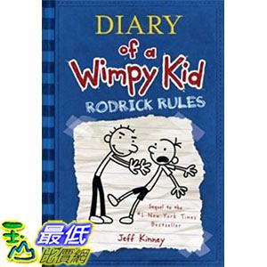 [ 美國直購 2016 暢銷書] Rodrick Rules (Diary of a Wimpy Kid, Book 2) Hardcover