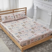 單人 薄床包含枕套 60支紗 100%純天絲(加高35CM)台灣製《親親寶貝》