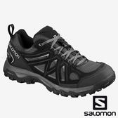 【SALOMON 法國】EVASION 2 AERO男登山鞋『黑/磁石灰/合金灰』393597 越野鞋.健行鞋.多功能鞋.戶外