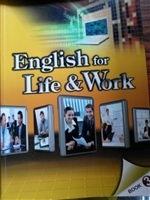 二手書博民逛書店《大專用書:English for Life & Work  book 3(書+CD)》 R2Y ISBN:9789866990717