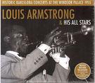 【正版全新CD清倉 4.5折】Louis Armstrong : Historic Barcelona Concerts At The Windsor Palace 1955 (2CD限量紙盒版)