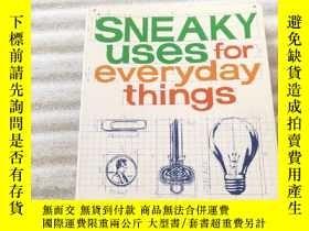二手書博民逛書店Super罕見Sneaky Uses for Everyday