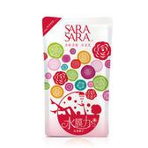 莎啦莎啦沐浴乳補充包-玫瑰嫩白800ml【愛買】