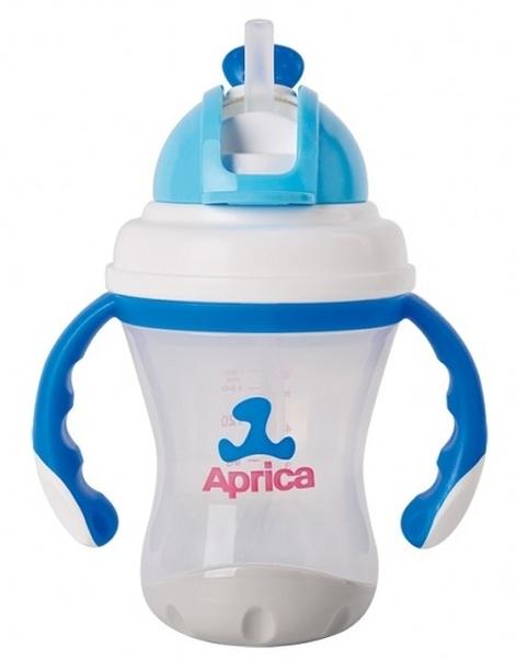 愛普力卡 Aprica 軟管滑蓋喝水練習杯 #89700