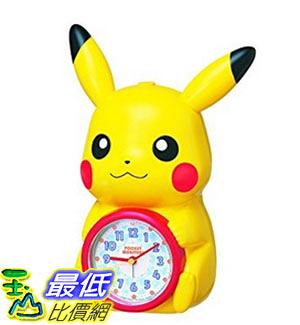 [東京直購] SEIKO CLOCK JF379A 皮卡丘時鐘 鬧鐘 神奇寶貝 精靈寶可夢 Pokemon Alarm Clock