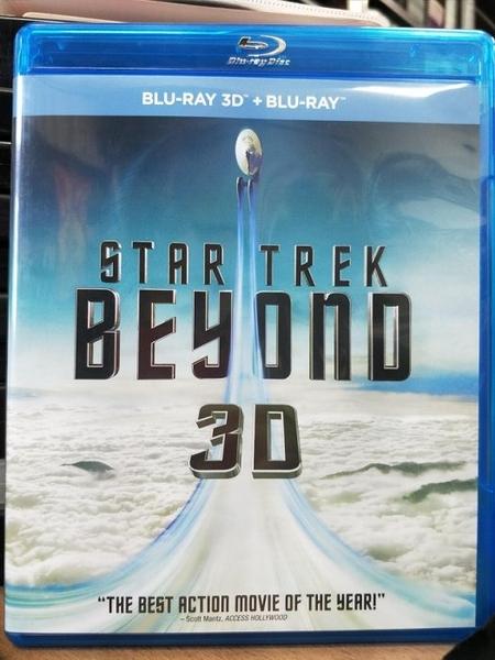 挖寶二手片-TBD-174-正版BD-電影【星際爭霸戰3:浩瀚無垠 3D+2D雙碟】-藍光影片(直購價)