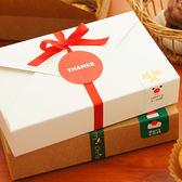 【BlueCat】熱銷長方形素面牛皮紙滑面包裝紙盒