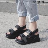 【快樂購】運動涼鞋學生休閒鞋女夏