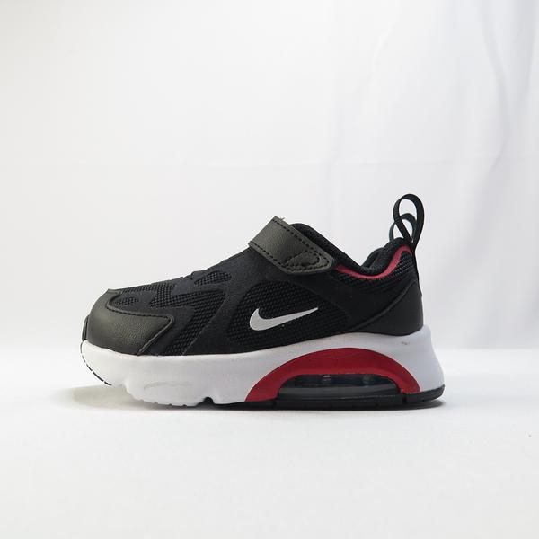 NIKE AIR MAX 200 (TD) 魔鬼氈 公司貨 AT5629007 小童鞋 黑紅【iSport愛運動】