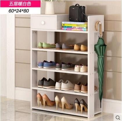 多層鞋架簡易家用收納櫃鞋櫃經濟型收納架子多功能防塵放鞋架玄關(主圖款5)