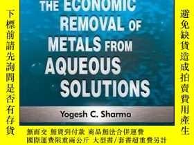 二手書博民逛書店A罕見Guide to the Economic Removal of Metals from Aqueous S