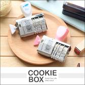 風之谷 文本 + 日期 印章 滾輪 旋鈕章 橡皮章 可愛 文字 復古 質感 氣球 鯨魚 造型 *餅乾盒子*