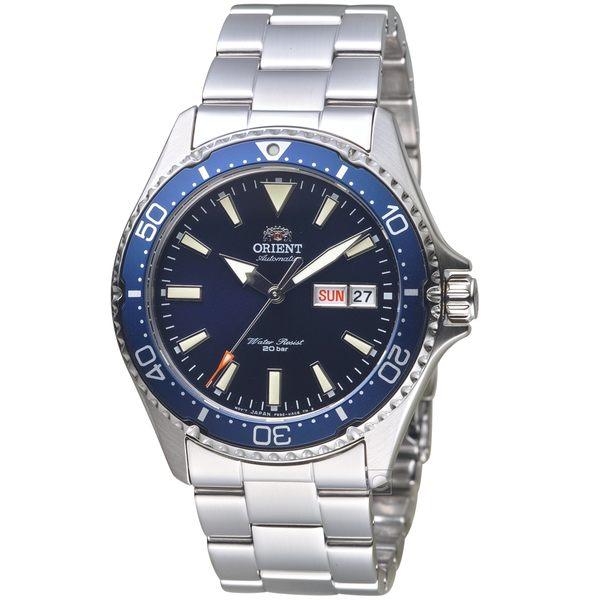 ORIENT東方錶WATER RESISTANT系列200m潛水錶  RA-AA0002L 藍