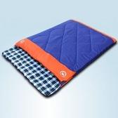 睡袋(雙人)快速收納-戶外露營保暖超大空間登山用品2色71q9【時尚巴黎】
