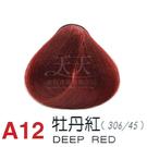 【燙後染髮】奇靈鳥 二代染髮劑 A12-牡丹紅色 [38352]