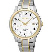 SEIKO 精工錶 都會時尚藍寶石鏡面腕錶 SGEH68P1 熱賣中!