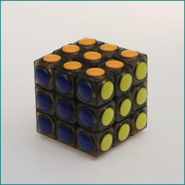 圓形三階魔術方塊專業比賽競速順滑速擰益智魔術方塊·樂享生活館