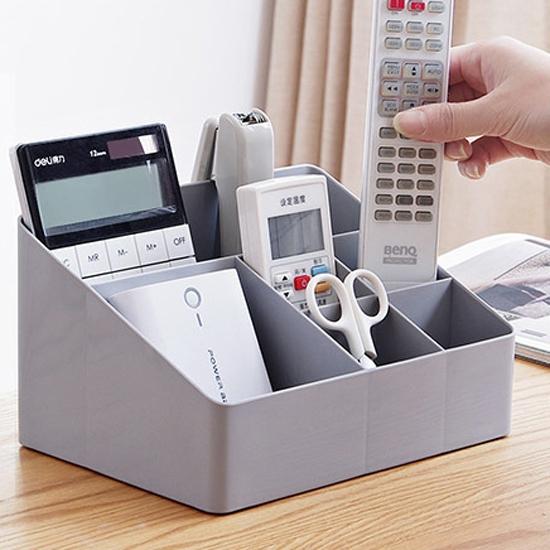 置物盒 儲物盒 整理盒 化妝品 書桌 加厚 梳妝台 筆筒 文具 北歐風 桌面收納盒 【L165】慢思行