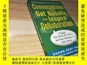 二手書博民逛書店CONVERSATIONS罕見THAT GET RESULTS AND INSPIRE COLLABORATION