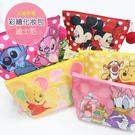 ☆小時候創意屋☆迪士尼 正版授權 彩繪 化妝包 筆袋 萬用袋 收納袋 手機袋 行動電源包