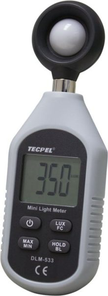 TECPEL 泰菱 》DLM-533 手持式照度計 呎燭光 照度計