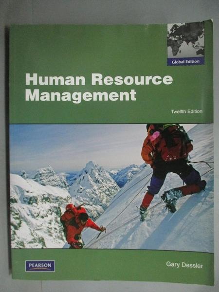 【書寶二手書T7/大學商學_ZCK】Human Resource Management12/e_Gary Dessler