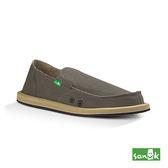 SANUK  經典帆布懶人鞋-男款SMF1001 BNDL(褐色)