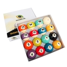 水晶臺球子美式十六彩桌球