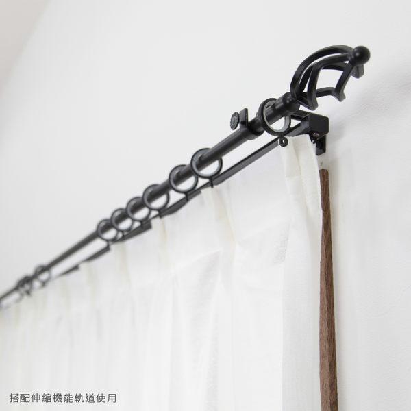 訂製 151~200cm 金屬窗簾桿組 管徑16mm 火炬 單桿 歐式經典款 台灣製 室內裝潢 客製化窗簾軌道