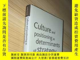 二手書博民逛書店Culture罕見and Positioning as Dete