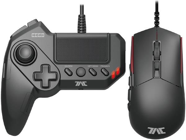 HORI 有線滑鼠+左手鍵盤組 G1(支援PS4、PS3、PC)