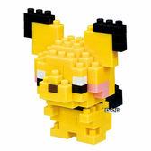 《 Nano Block 迷你積木 》【 神奇寶貝系列 】NBPM-028 皮丘╭★ JOYBUS玩具百貨