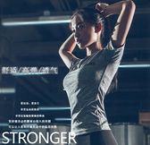 嵐紋緊身健身短袖女運動T恤跑步訓練速干瑜伽服上衣吸汗半袖夏季