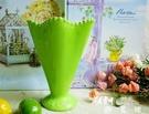 清新冰激淩錐形甜筒夏日冰水奶茶飲料綠杯子