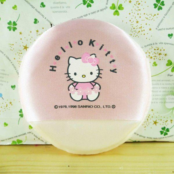 【震撼精品百貨】Hello Kitty 凱蒂貓-KITTY粉撲-粉色