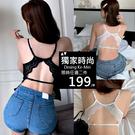 春夏韓國連線高質感萊卡機能型集中調整型爆乳內衣睡衣 爆乳神器美背釦環厚墊無鋼圈內衣