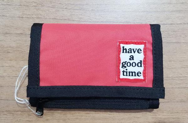 KR正韓- have a good time 皮夾-4色 H1550