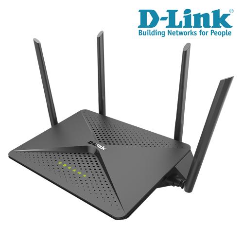 【限時特價至0731】 D-Link 友訊 DIR-882 AC2600 MU-MIMO 雙頻Gigabit 無線路由器
