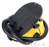 戶外多功能皮劃艇氣墊床充氣泵腳踏手動打氣筒igo   伊鞋本鋪