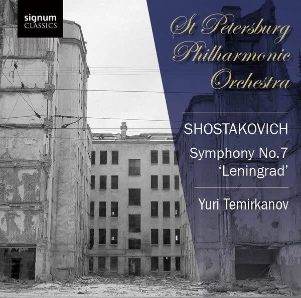 蕭士塔科維契第七號交響曲-列寧格勒 CD(購潮8)