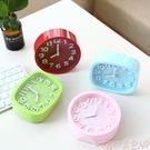 鬧鐘 臺式創意個性學生兒童鐘錶床頭靜音石英鐘桌面小擺件鬧鐘電子時鐘 【618 大促】